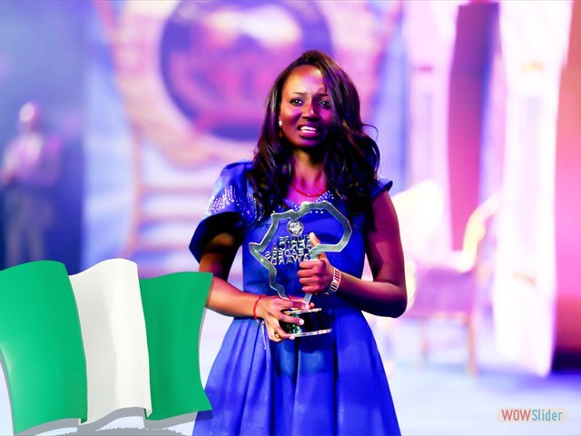 NAOMI EKPOKI ALIYU FROM - NIGERIA<br> (STAR PRIZE WINNER 2017)