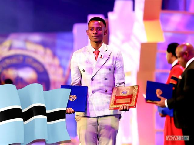 TSHEPISO MASILONYANE - BOTSWANA