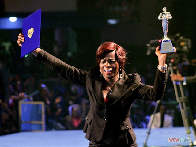 Sharon Sade Ajide from Lagos, Nigeria <br> (STAR PRIZE WINNER 2013)